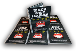 Teach Your Child to Drive Book - Buy Now - Save Money on Driving Lessons