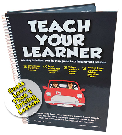 Teach Your Child to Drive Book - for Private Driving Lessons